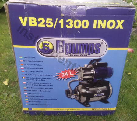 Насосная станция Elpumps VB25/1300 INOX